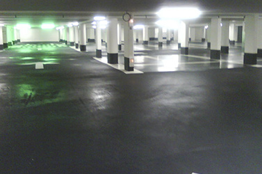 parking cuvelage extrado